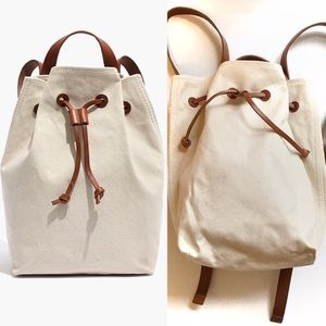 Madewell Canvas Somerset Backpack Vintage Canvas